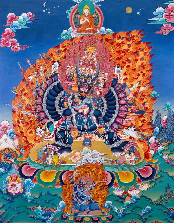 YAMANTAKA INITIATION - Dagom Geden Kunkyob Ling Buddhist Monastery